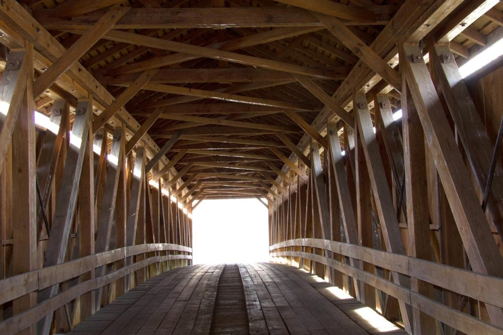 Inside Colville Bridge