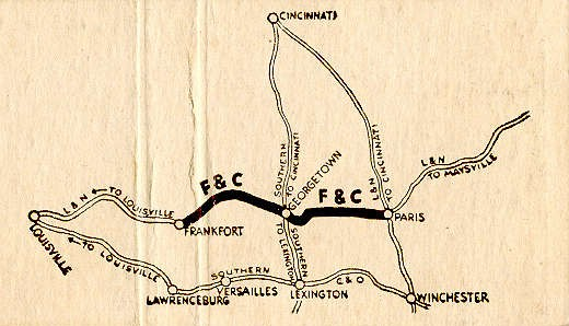 Map of Railroad