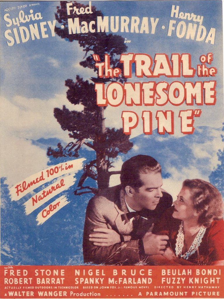 Lonesome Pine Movie Poster