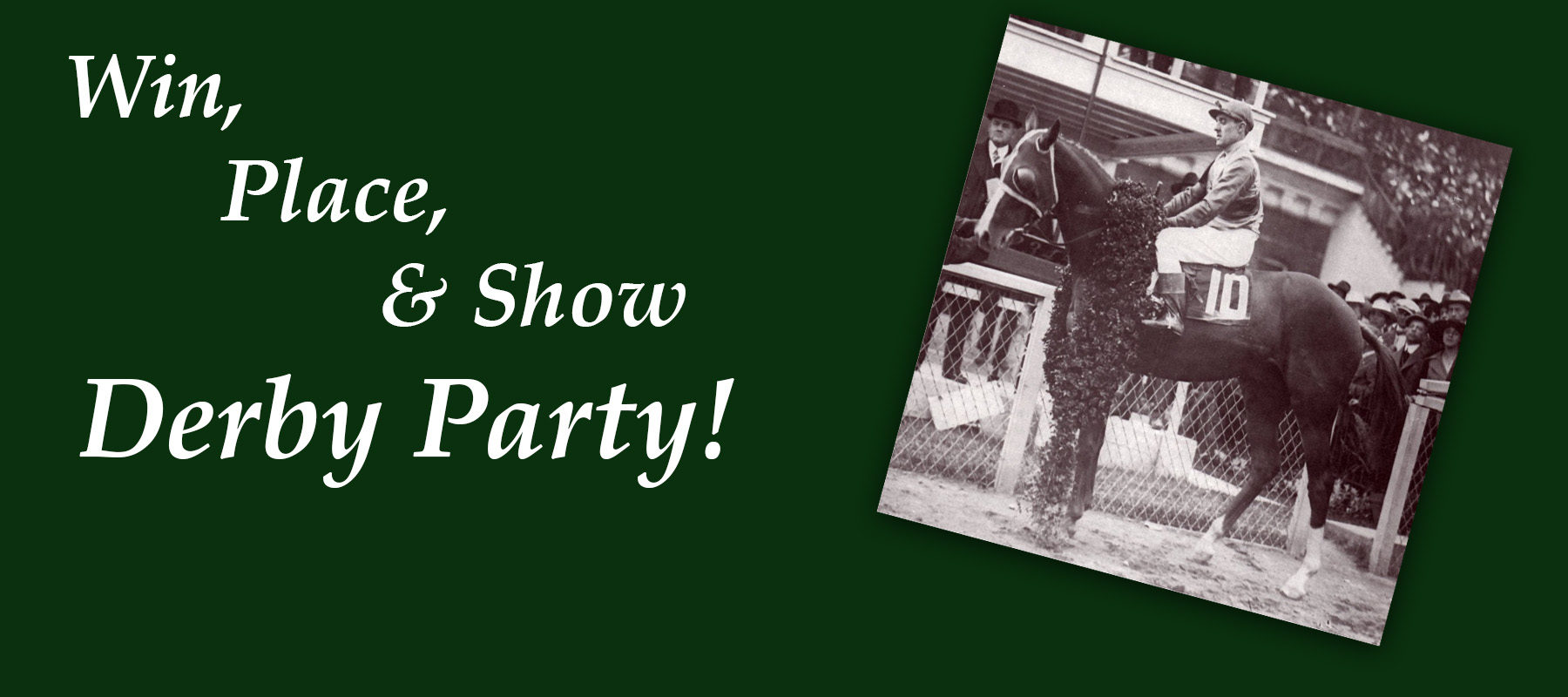 Win, Place, & Show Derby Party