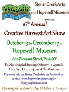 Creative Harvest Flyer
