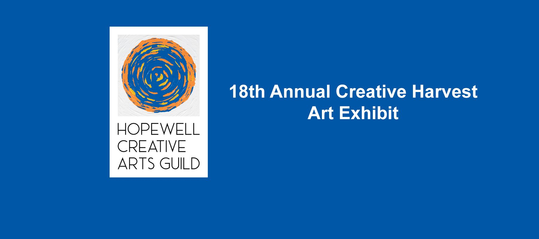 18th Annual Creative Harvest Art Exhibit