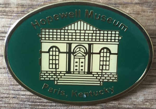 Hopewell Museum Pin