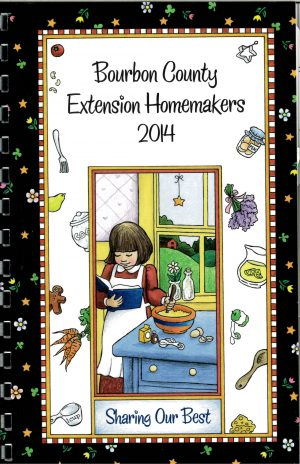 Recipe book - Bourbon County Extension Homemakers 2014